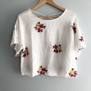 Forever 21 Contemporary Bohemian Embroidered